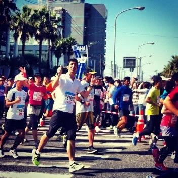 アクアラインマラソン2012