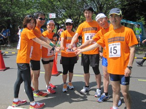 青葉の森リレーマラソン2012年