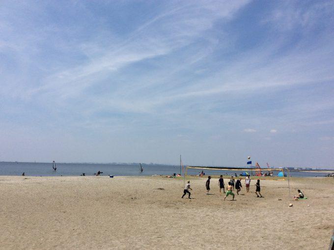稲毛海浜公園ビーチバレー