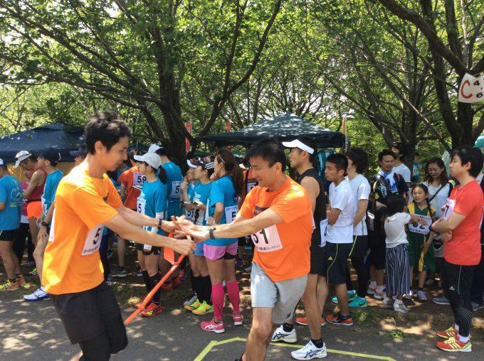 青葉の森リレーマラソン2016