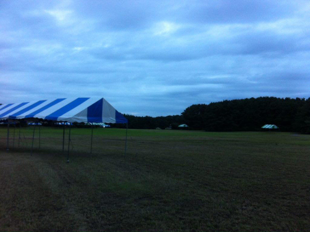 美浜区民フェスティバルの準備