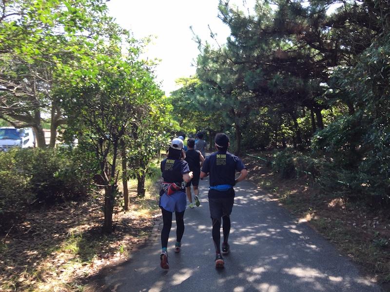 花見川サイクリングロード〜稲毛海浜公園LSDランニング練習会