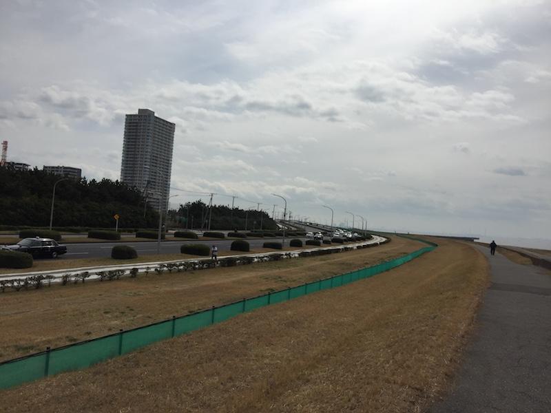 稲毛海浜公園〜マリンスタジアム20kmLSDランニング練習会
