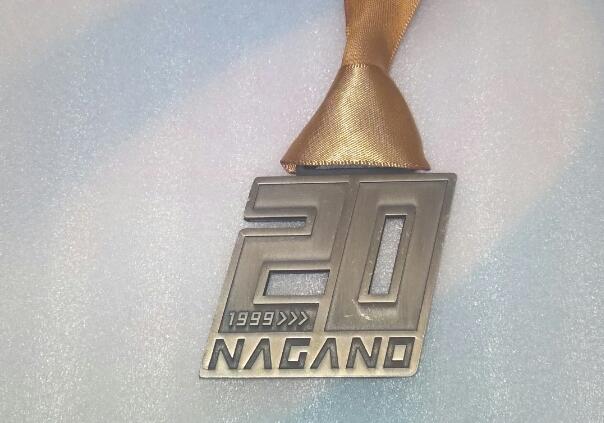 長野マラソン2018のメダル
