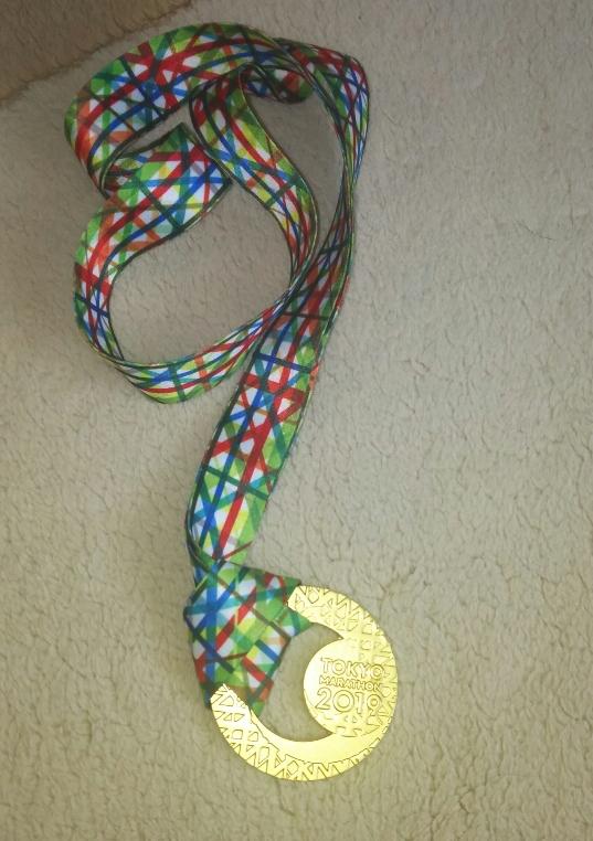 東京マラソン2019のメダル