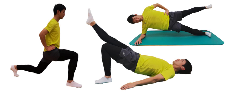 ランナーのためのコアトレーニング